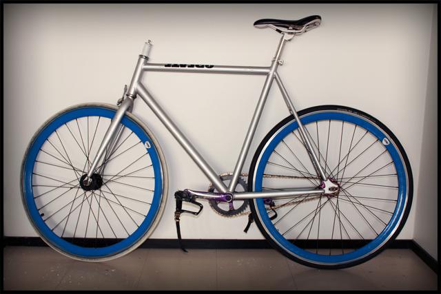 alkutilanne pyöräprojektissa