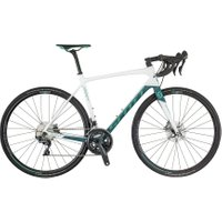 Womens Contessa Addict 15 Disc   Carbon White