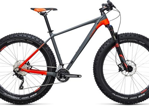 Cube Nutrail Mountain  2018 - Fat bike