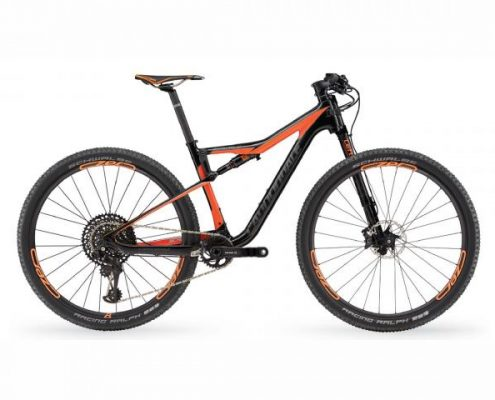 Cannondale Scalpel-Si Carbon 2 Eagle - MTB Fully 2018 | black-orange