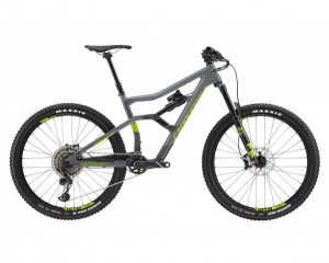 Cannondale Trigger 2 27.5 - Carbon MTB Fully 2018 | grey-green
