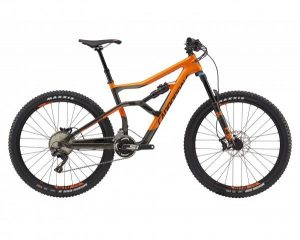 Cannondale Trigger 3 27.5 - Carbon MTB Fully 2018 | orange-black