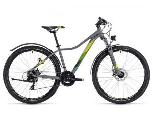 Cube Access WS Allroad 27.5 - Damen MTB Hardtail mit StVZO | grey n green