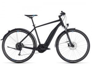 Cube Cross Hybrid ONE Allroad 500 - Elektro Cross Bike 2018 | black n blue
