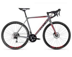Cube Cross Race Pro - Cyclocross Bike 2018 | grey n red