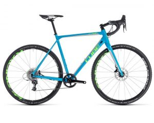 Cube Cross Race SL - Cyclocross Bike 2018 | blue n green