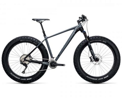 Cube Nutrail Race 26 - Fatbike 2018 | grey n black