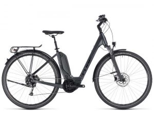 Cube Touring Hybrid ONE 400 Easy Entry - Elektro City Bike 2018 | iridium n black