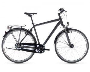 Cube Town Pro Comfort - Trekking Fahrrad 2018 | black n black