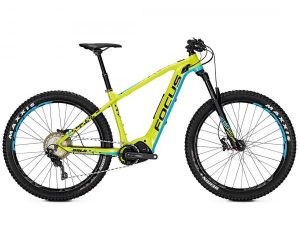 Focus Bold2 Plus 27.5 - Elektro MTB Hardtail 2018 | green-blue