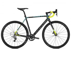 Focus Mares Sram Rival1 - Carbon Cyclocross Bike 2018 | carbon-blue-green
