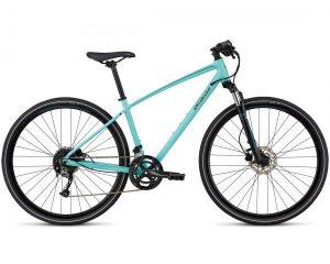 Specialized Ariel Sport INT - Damen Cross Bike 2018 | gloss lt turquoise-turquoise-tarmac black