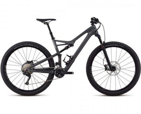 Specialized Camber FSR Comp Carbon 29 2x - MTB Fully 2018 | satin graphite-flake silver clean
