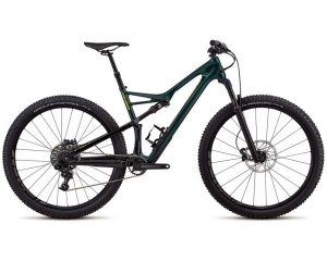 Specialized Camber FSR Comp Carbon 29 - MTB Fully 2018 | gloss cavendish green-hyper green clean