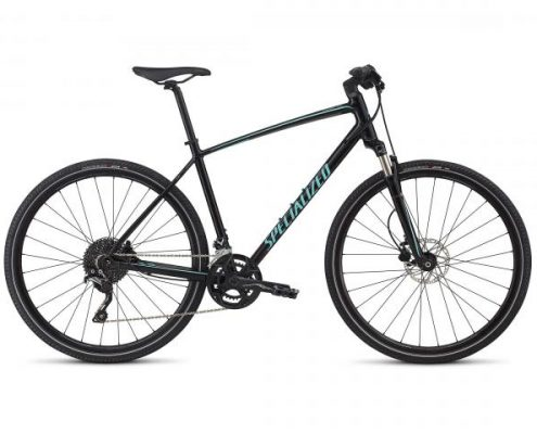 Specialized Crosstrail Elite INT - Cross Bike 2017 | gloss tarmac black-charcoal-light turquoise ref