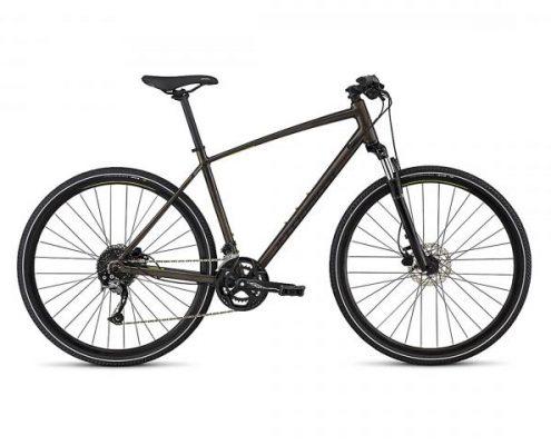 Specialized Crosstrail Sport INT - Cross Bike 2018   rainbow flake black tint -nearly black-hyper gr