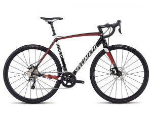 Specialized CruX E5 - Cyclocross Bike 2018 | tarmac black-flo red-metallic white