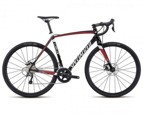 Specialized CruX E5 - Cyclocross Bike 2018 | tarmac black-flo red-metallic white