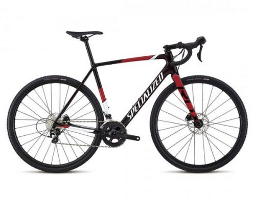 Specialized CruX Sport - Carbon Cyclocross Bike 2018 | gloss red tint-metallic white silver-flo red