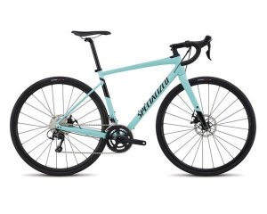Specialized Diverge Comp E5 - Gravel Bike 2018 | gloss light turquoise-tarmac black