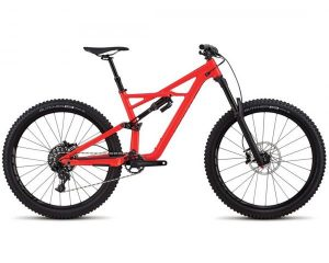 Specialized Enduro FSR Comp 27.5 - MTB Fully 2018 | gloss rocket red-black clean