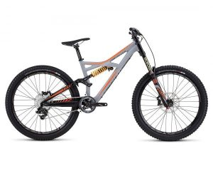 Specialized Enduro FSR Expert Evo 27.5 - MTB Fully 2016 | satin cool gray-moto orange-slate