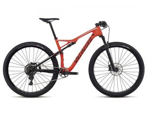 Specialized Epic FSR Expert Carbon World Cup 29 - MTB Fully 2017 | satin rocket red-black-white
