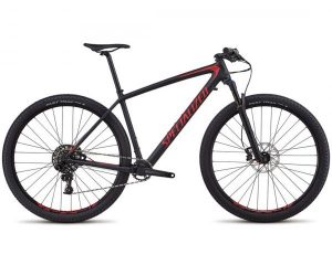 Specialized Epic HT Comp Carbon 29 - MTB Hardtail 2018 | satain black-flo red