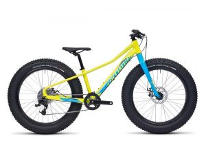 Specialized Fatboy 24 - Kids MTB Hardtail 2016 | gloss hyper-cyan-royal blue