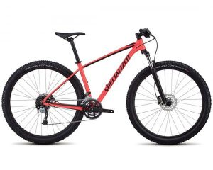 Specialized Rockhopper Comp Damen 29 - MTB Hardtail 2018 | gloss satin acid red-black