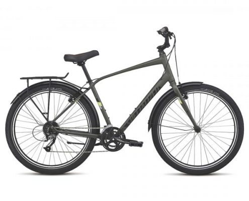 Specialized Roll Sport EQ - City Bike 2017   oak green-powder green-spruce reflective