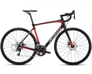 Specialized Roubaix Sport - Carbon Rennrad 2018 | gloss carbon-nordic red-metallic white