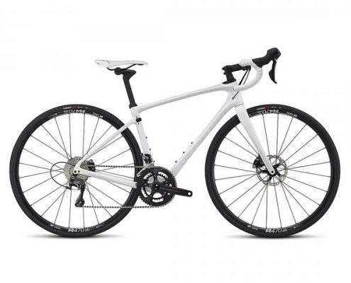 Specialized Ruby Comp - Damen Rennrad 2017 | gloss white-metallic white silver