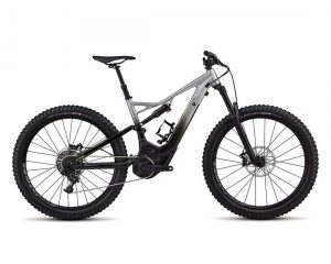 Specialized Turbo Levo FSR Comp 6Fattie 29 - Elektro MTB Fully 2018 | flake silver fade-black-hyper