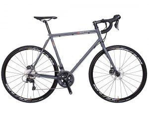 VSF Fahrradmanufaktur CR-500 Sportstourer Cyclocross Shimano 105 2 x 11 | schiefergrau matt