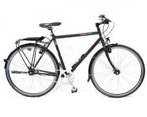 VSF Fahrradmanufaktur T-700 Shimano Alfine 11-Gang - Trekking Fahrrad | ebony matt