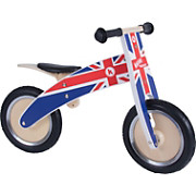Kiddimoto Union Jack Kurve Balance Bike SS18