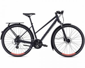 Specialized Crosstrail EQ Step Through - Damen Trekking Bike 2018 | satin cast black-acid lava
