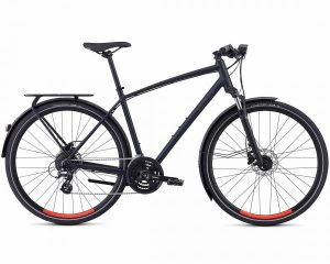 Specialized Crosstrail EQ - Trekking Bike 2018 | satin cast black-rocket red