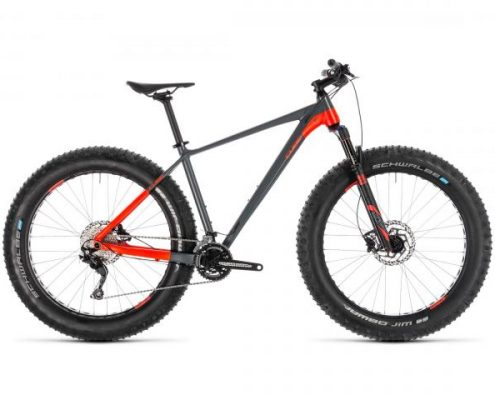 Cube Nutrail 26 - MTB Fatbike 2019 | grey n flashred
