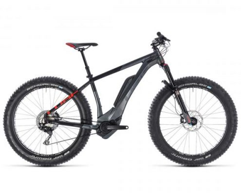 Cube Nutrail Hybrid 500 26 - Elektro Fat Bike 2019 | iridium n red
