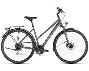 Cube Touring Pro Trapeze - Trekking Fahrrad 2019   brown n silver