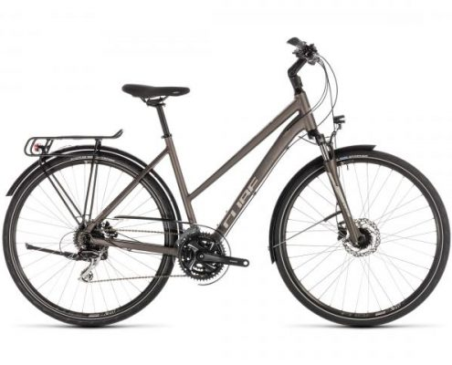 Cube Touring Pro Trapeze - Trekking Fahrrad 2019 | brown n silver