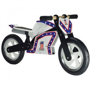 Kiddimoto Evel Knievel Heroes Superbike Balance Bike
