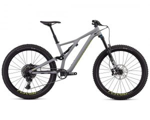 Specialized Stumpjumper FSR Comp 27.5 - MTB Fully 2019 | satin cool grey-team yellow