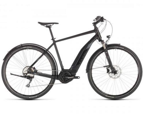 Cube Cross Hybrid EXC 500 Allroad - Elektro Cross Fahrrad 2019 | black n grey