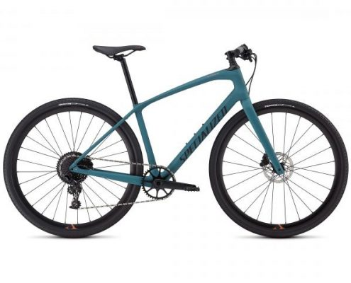 Specialized Sirrus X Comp Carbon INT - Damen Fitness Bike 2019   satin dusty turquoise-copper-black