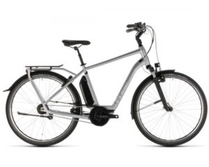 Cube Town Hybrid SL 500 - Elektro City Fahrrad 2019 | silver n white