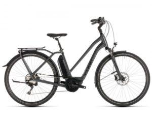 Cube Town Sport Hybrid Pro 400 Trapeze - Elektro City Fahrrad 2019 | iridium n black