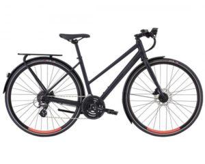 Specialized Sirrus EQ Step Through Black Top LTD - Damen Trekking Bike 2019 | satin cast black-acid